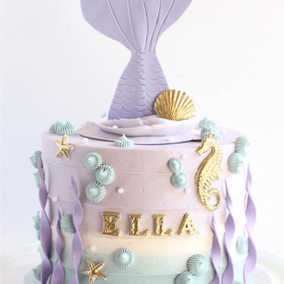 20+ AMAZING Mermaid Birthday Cakes You Should See!