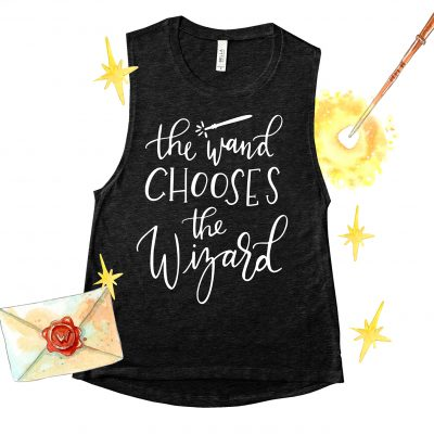Free Harry Potter The Wand Chooses the Wizard SVG Cut File