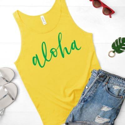 Free Aloha SVG Cut File PLUS 12+ Free Beach SVG Files