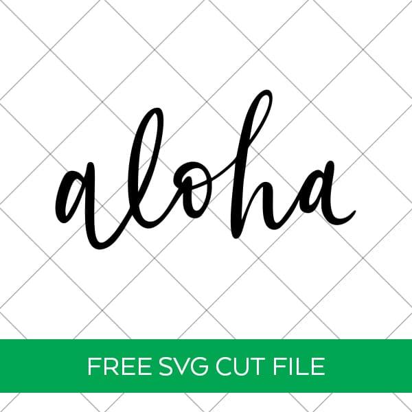 Free Aloha SVG