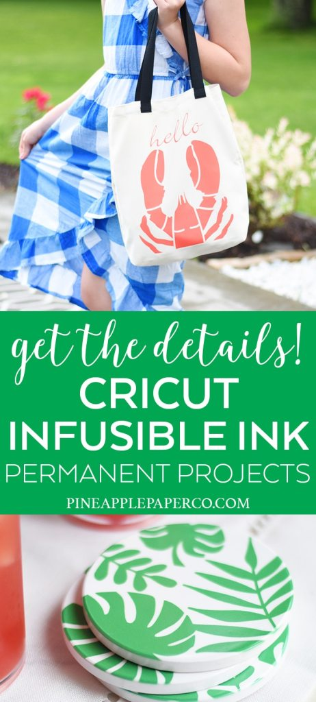 Cricut Infusible Ink Projects by Pineapple Paper Co.