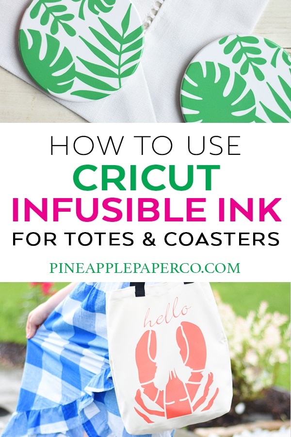 Cricut Infusible Ink Projects and Tutorials by Pineapple Paper Co.