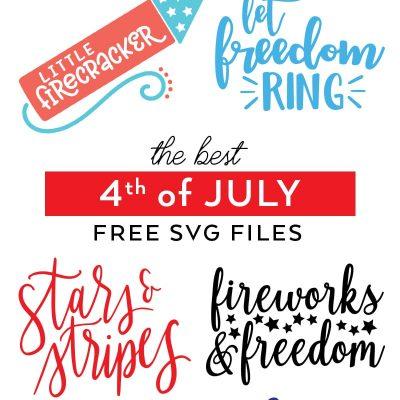 Best Free 4th of July Patriotic SVG Files