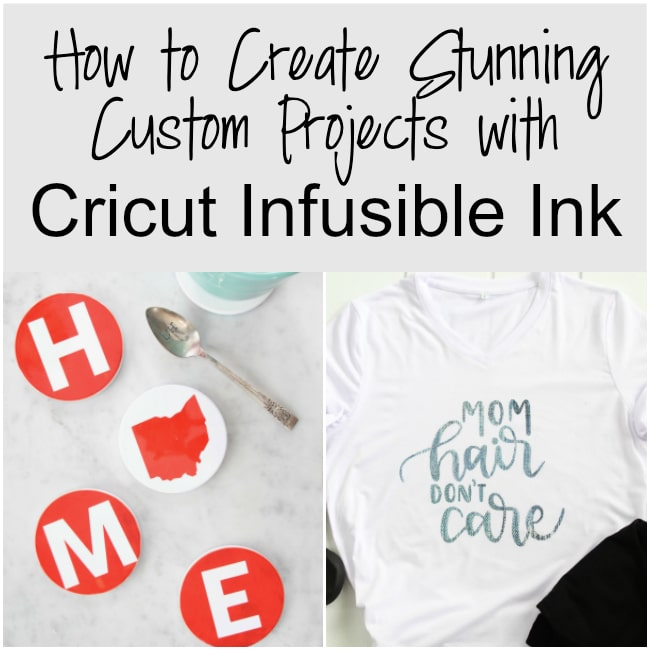 What is Cricut Infusible Ink and How Do You Use it?