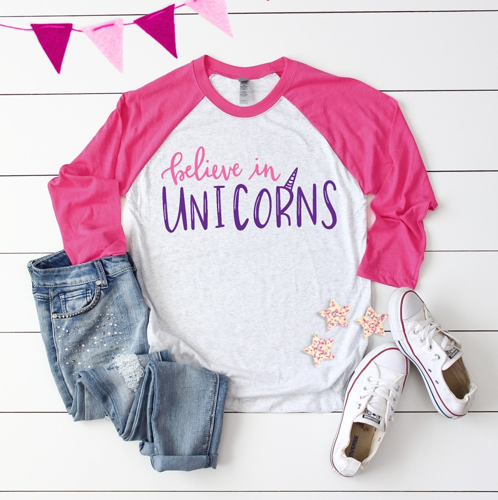 Believe in Unicorns SVG Cut Files plus 15 more Free Unicorn SVG Cut Files for Cricut and Silhouette