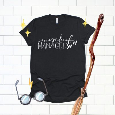 Mischief Managed SVG Cut File to Make a Harry Potter Shirt