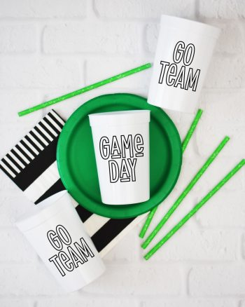 Game Day Football SVG FREE by Pineapple Paper Co.