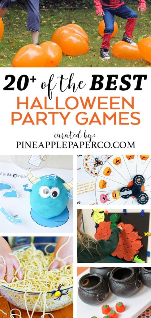 Halloween Party Games for Kids of All Ages curated by Pineapple Paper Co.