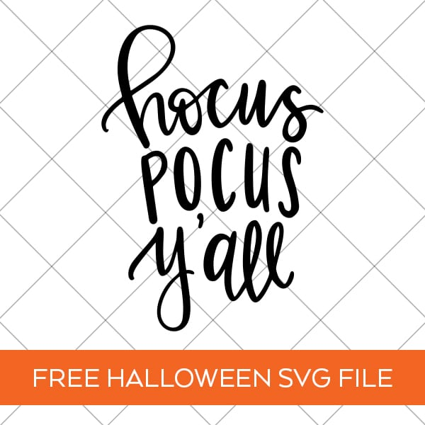 Make a Hocus Pocus T Shirt with a Free Hocus Pocus Y'all SVG by Pineapple Paper Co.