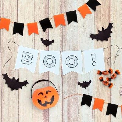 Easy Halloween Banner Printable