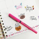 Free Fall Printable Planner Stickers