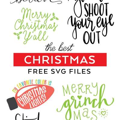Best FREE Christmas SVG Files