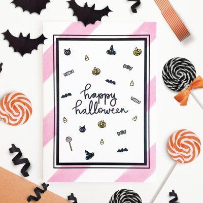 Free Printable Halloween Card