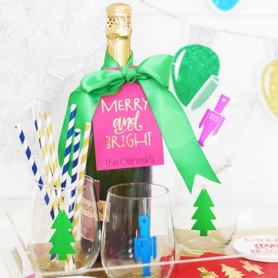 Personalized Christmas Hostess Gift Ideas with Cricut Explore Air 2