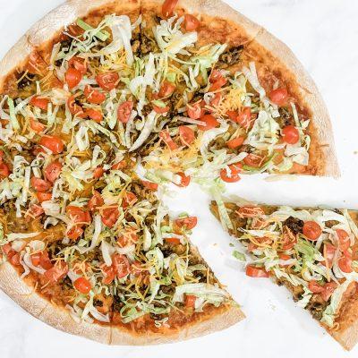 Homemade Taco Pizza Recipe