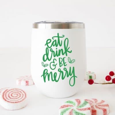 Eat Drink and Be Merry SVG Cut File