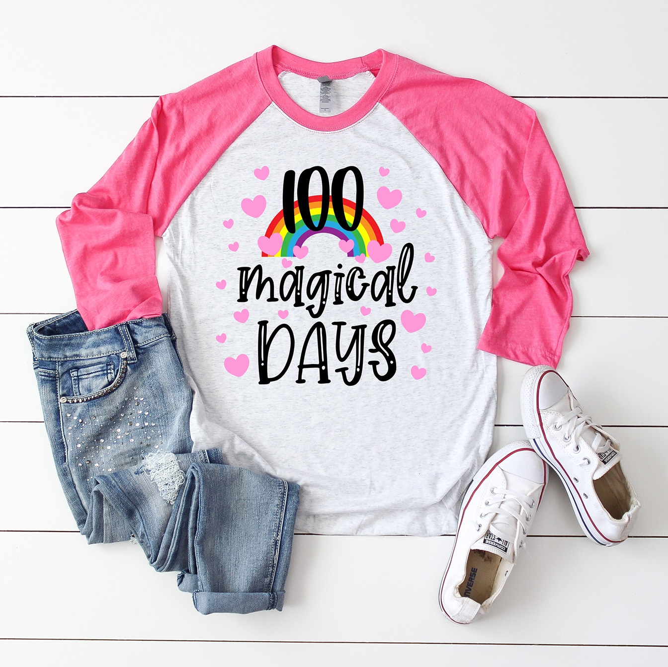 100 Days SVG Svg Files for Cricut Silhouette Files 100 Days of School SVG 100th Day SVG
