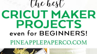 25+ of the Best Cricut Maker Projects from Pineapple Paper Co.