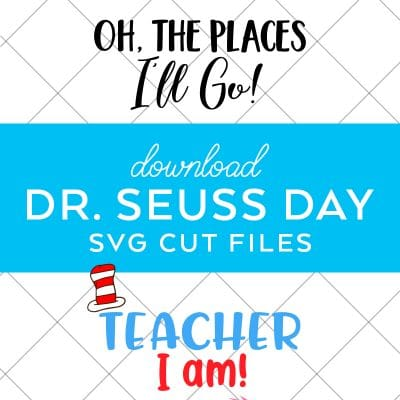 Dr. Seuss SVG Files for Dr. Seuss Day