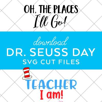 Dr. Seuss SVG Files by Pineapple Paper Co.