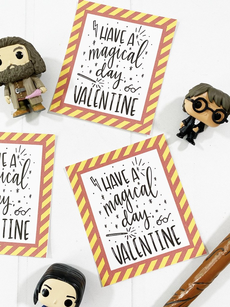 Free Printable Harry Potter Valentines - Pineapple Paper Co.