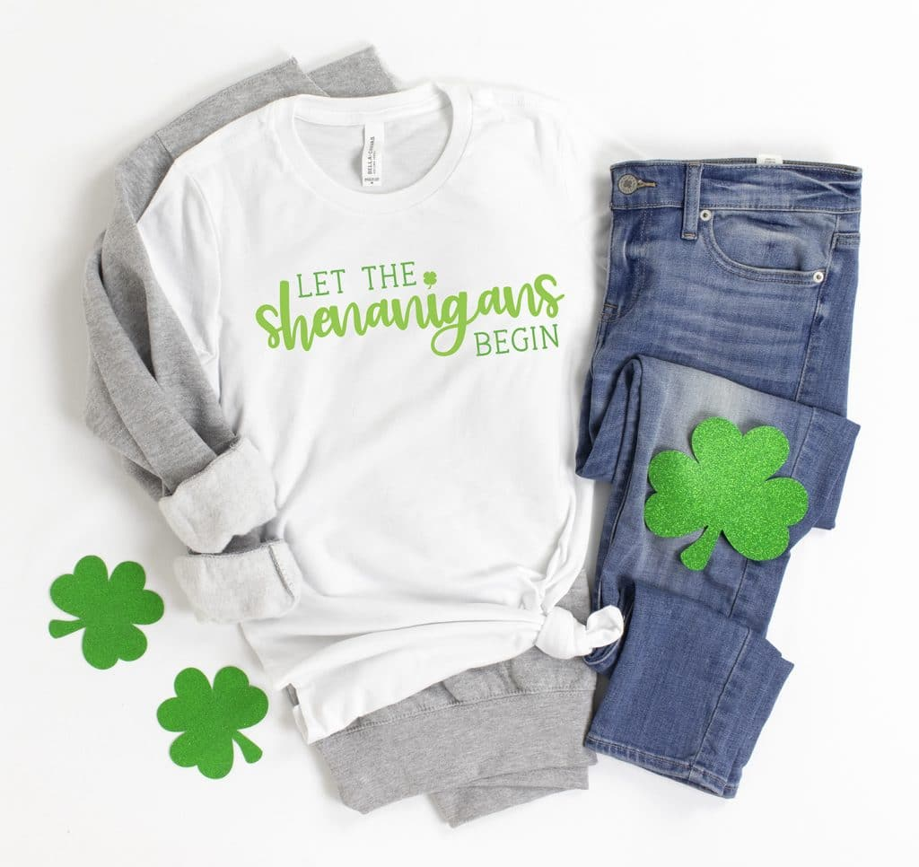 Let the Shenanigans Begin SVG File Plus 12 More St. Patrick's Day SVGs FREE by Pineapple Paper Co.