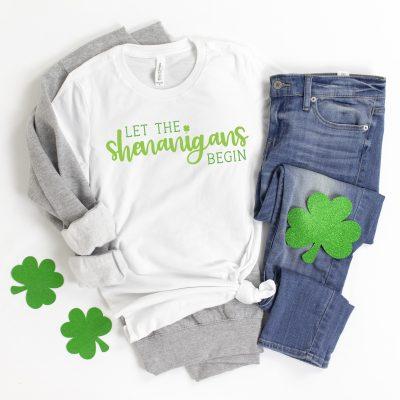 Let the Shenanigans Begin SVG File for St. Patrick's Day