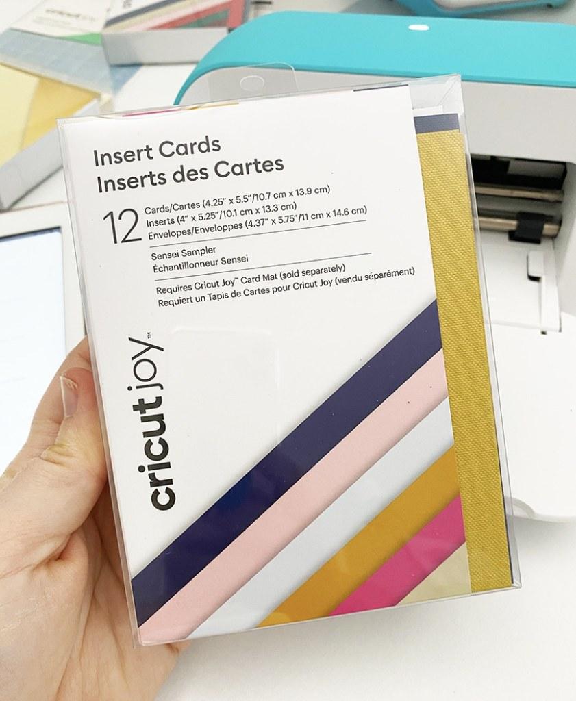 Cricut Joy blank Card Pack