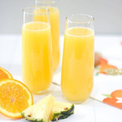 Easy Orange Pineapple Mimosa Recipe