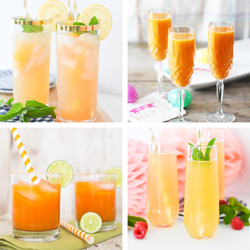 20+ Easter Cocktail Recipes that everyone will love curated by Pineapple Paper Co.