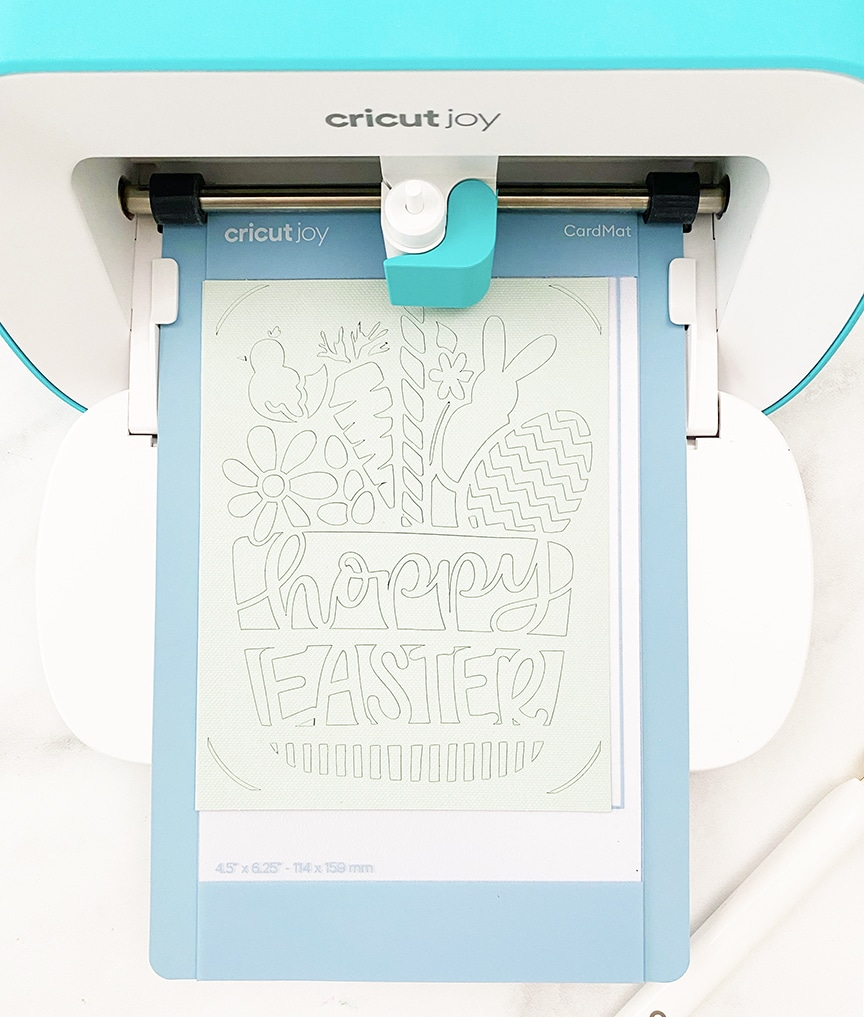 Make an Easy DIY Easter Card with Cricut Joy by Pineapple Paper Co.