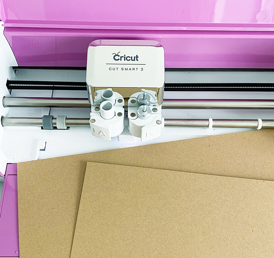 Cricut Explore Air 2 and Kraft Board