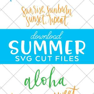 Summer SVG Files for Cricut