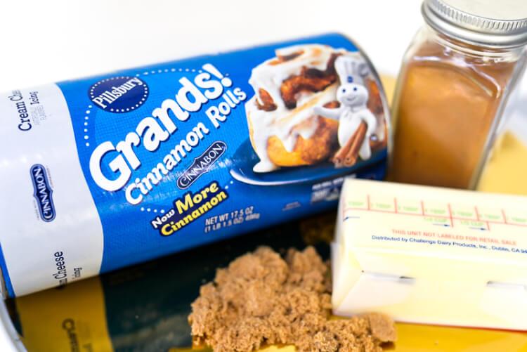 Pillsbury Grands Cinnamon Rolls for Espresso Coffee Cake Monkey Bread Recipe at Pineapple Paper Co.