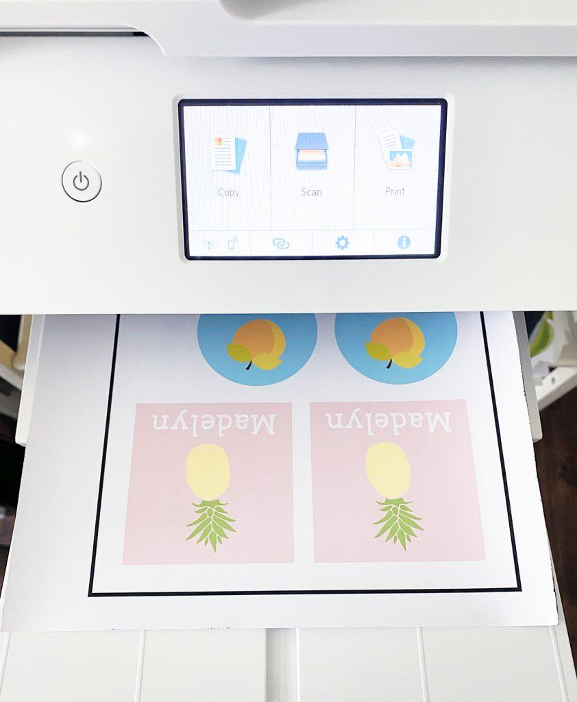 Cricut Print then Cut Sheet with Canon Printer