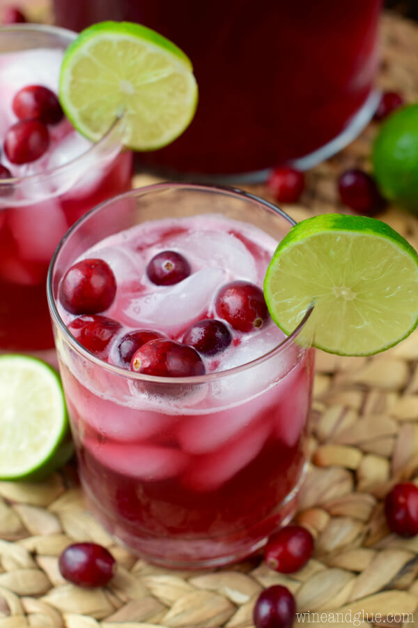 cranberry beer cocktail