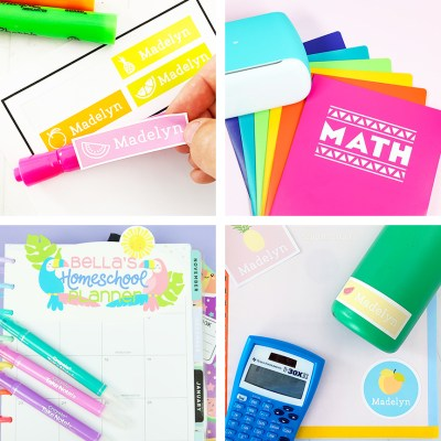 Back to School Craft Ideas with the Cricut
