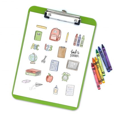 Printable Back to School Stickers