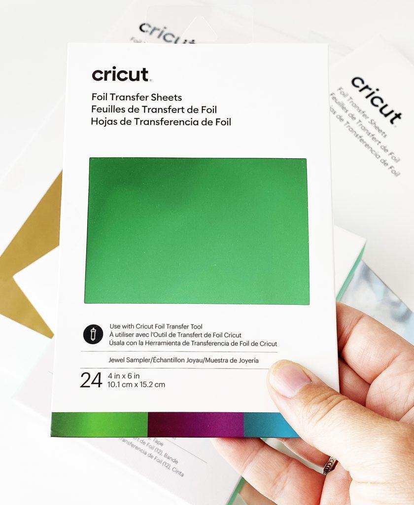 Cricut Foil Transfer Sheets - Jewel Sampler