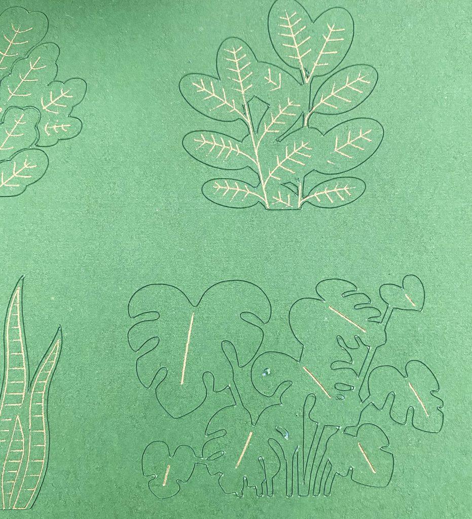 Plants - Foil with the Cricut