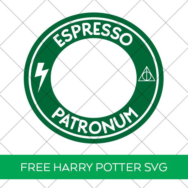Free Harry Potter Espresso Patronum Starbucks SVG