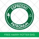 Espresso Patronum SVG for Starbucks Cold Cup