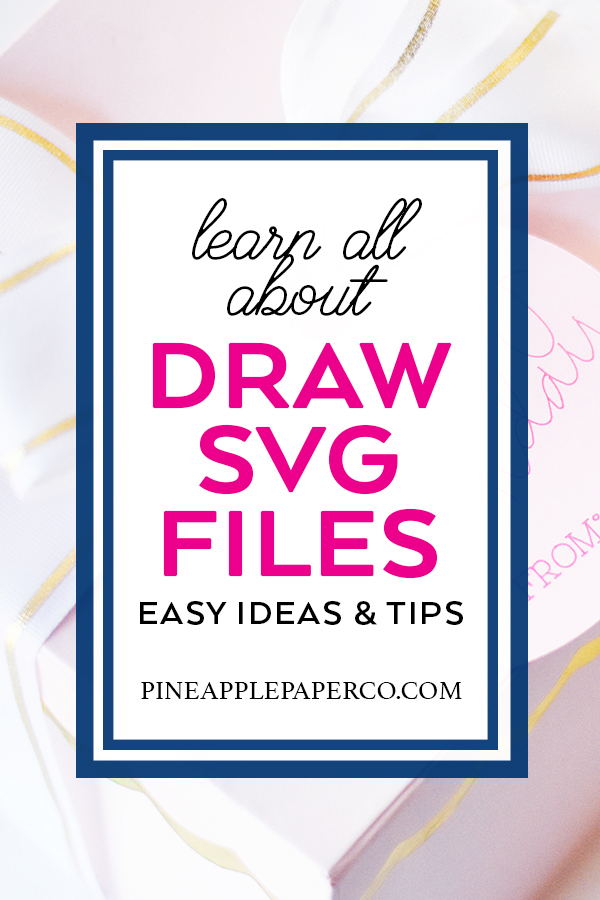 Single Line Draw Sketch SVG Files - the Basics!