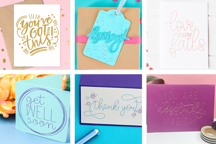 Free Single Line SVG Files for Cricut Foil, Pens, and Foil Quill