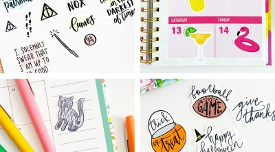 Free Printable Stickers to Download for your Planner