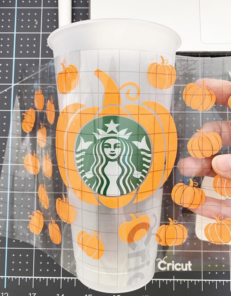 Apply Cup Wrap to Starbucks Cold Cup