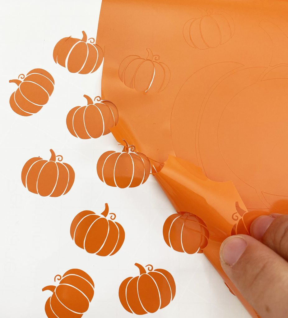 Pumpkin Starbucks Vinyl Cup Wrap Weeding