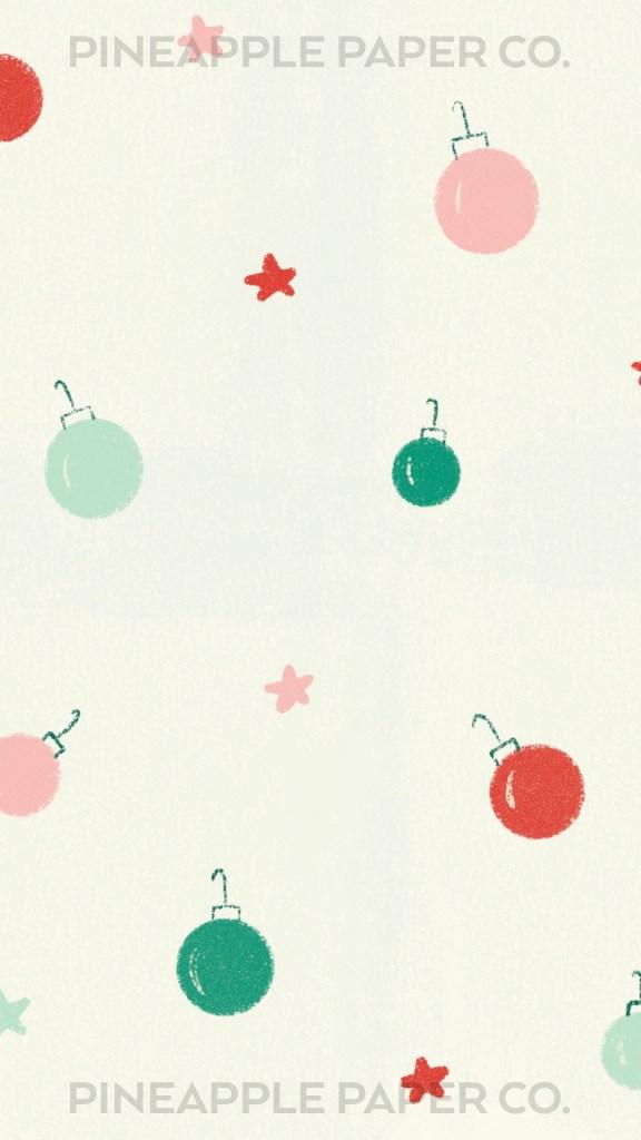 iOS 14 Christmas background