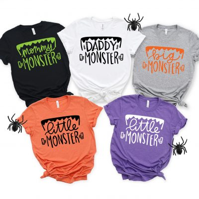 Make your Own Family Halloween Shirts