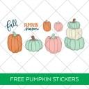 Printable Pumpkin Stickers